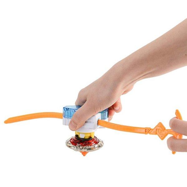 Волчок Infinity Nado с устройством запуска Fiery Blade (Огненный клинок), YW624302