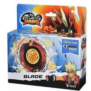 Волчок Infinity Nado с устройством запуска Fiery Blade (Огненный клинок), закрытая упаковка, YW624312