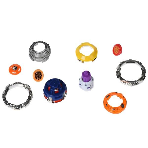 Волчок Infinity Nado 2 в 1 с устройством запуска Kaleido Fox (Красочная Лиса) и Basaltic Sword (Базальтовый Меч), YW624606