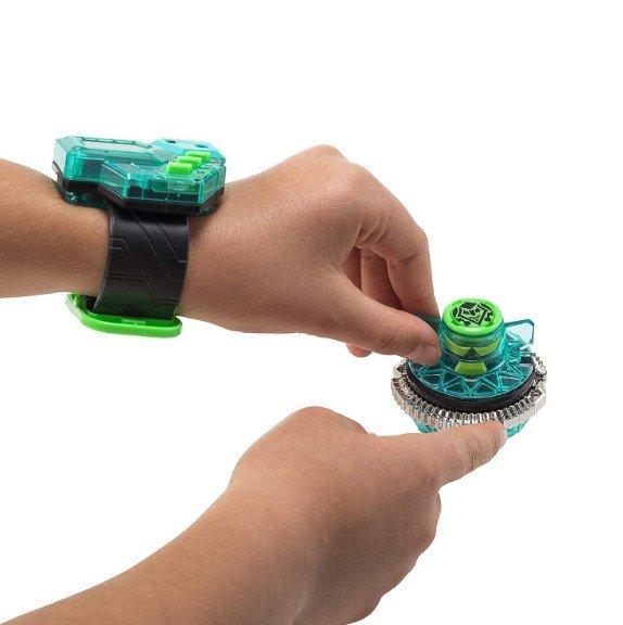 Волчок Infinity Nado Электроник Skyshatter Fiend с часами-контроллером, YW624405