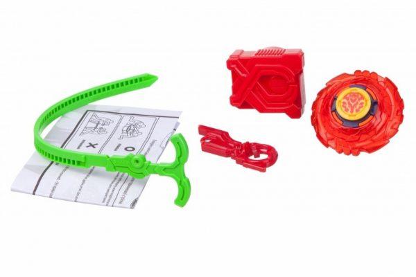 Волчок Infinity Nado Пластик с устройством запуска Fiery Blade (Огненный клинок), YW624102