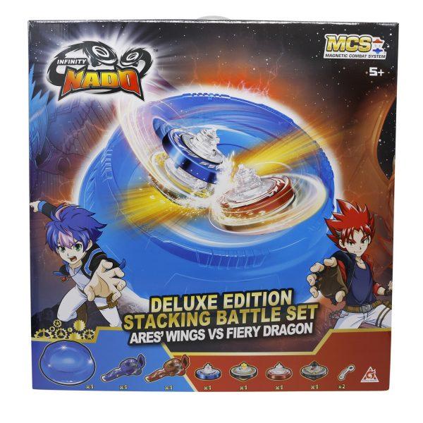 Арена Infinity Nado V Deluxe Battle Set Крылья Ареса против Огненного Дракона, EU634806H